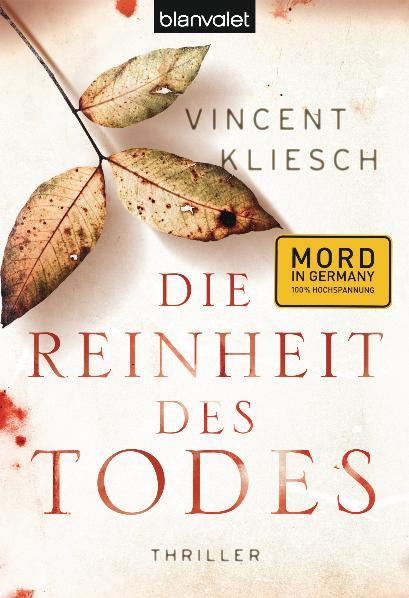 Buchcover Vincent Kliesch – Die Reinheit des Todes